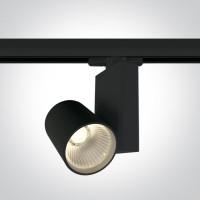 65611NT/B/W BLACK COB LED 15W WW TRACK SPOT 230V