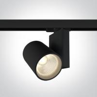 65612NT/B/W BLACK COB LED 30W WW TRACK SPOT 230V