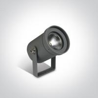 67196A/AN/W ANTHRACITE GARDEN SPOT LED 3W WW 35deg IP65 100-240V