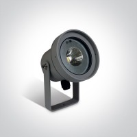 67196C/AN/W ANTHRACITE GARDEN SPOT LED 9W WW 35deg IP65 230V