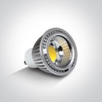 7305CG/C/120 COB LED GU10 5w CW 120deg 230v