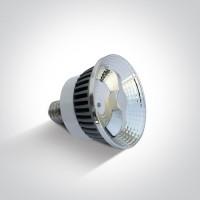 7306A/W/35 LED 10w PAR30 WW E27 35deg 230V