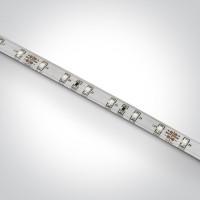 7820W/BL LED strip 24vDC BLUE OUTDOOR 5m ROLL 4,8w/m IP68