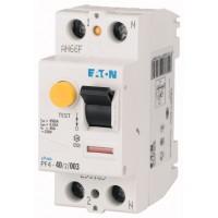 Residual Current Circuit Breaker PF4, 2P, 40 A, 4.5 kA, 300 mA, AC