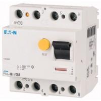 Residual Current Circuit Breaker PF4, 4P, 25 A, 4.5 kA, 30 mA, AC