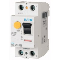 Residual current circuit breaker PF6, 2P, 25 A, 30 mA, AC