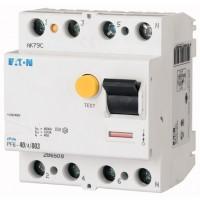 Residual current circuit breaker PF6, 4P, 25 A, 30 mA, AC