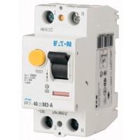 Residual current circuit breaker PF7, 2P, 25 A, 30 mA, A