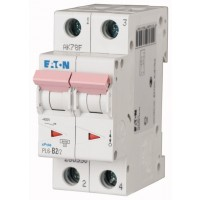 Miniature circuit breaker PL6, 2P, 2 A, 6 kA, C
