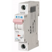 Miniature circuit breaker PL7, 1P, 2 A, 10 kA, C