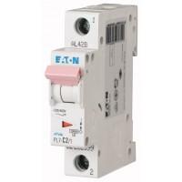 Miniature circuit breaker PL7, 1P, 2 A, 10 kA, D