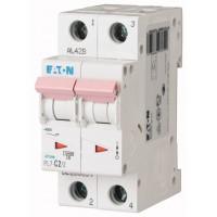 Miniature circuit breaker PL7, 2P, 2 A, 10 kA, C