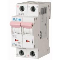 Miniature circuit breaker PL7-DC, 2P, 2 A, 10 kA, C