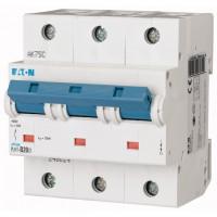Miniature circuit breaker PLHT, 3P, 20 A, 25 kA, D