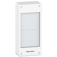 Surface enclosure, Titanium white/Metal grey, 2 x 13