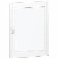 Transparent door Flush/Surface mounting 3 x 24, Crystal