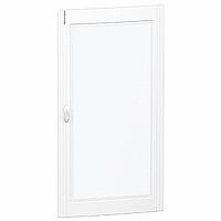 Glass/Metal door Flush/Surface mounting 6 x 24, Crystal