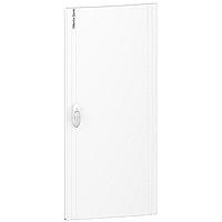 Opaque door Flush/Surface mounting, Titanium white 3 x 13