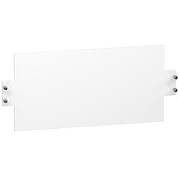 Plain mounting plate 18 modules