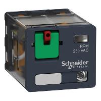 Power relay RPM 3 C/O 24 V AC 15 A with LED