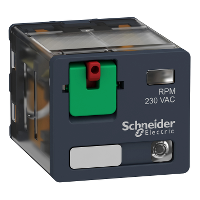Power relay RPM 3 C/O 230 V AC 15 A with LED