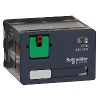 Power relay RPM 4 C/O 230 V AC 15 A with LED