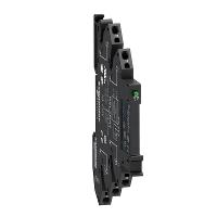 Slim interface relay RSL 1 C/O 24 V DC, Spring terminal
