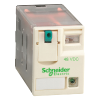 Miniature Plug-in relay RXM 3 C/O 48 V DC 10 A