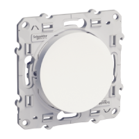 Lightable Switch 10 AX one-way, White