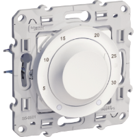 Thermostat 8 A, heat/cool, White