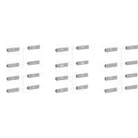 Set of 24 scenario symbols, Aluminium