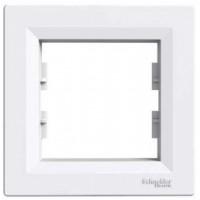 Cover Frame 1 gang, White, Horizontal