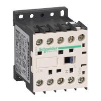Contactor TeSys K, 3P(3 N/C) 127V AC coil, 9A
