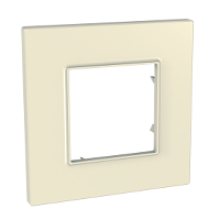 Cover Frame Unica Quadro, Stone, 1 gang
