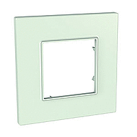 Cover Frame Unica Quadro, Urban green, 1 gang