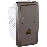 American Socket-outlet 10/16 A, 2P+E, Graphite