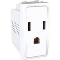 American Socket-outlet 10/16 A, 2P+E, White