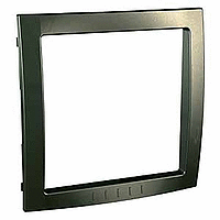 Decorative Frame Unica Colors, Bronze, 1 gang