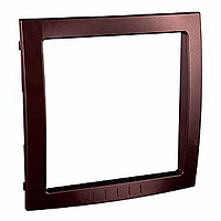 Decorative Frame Unica Colors, Terracotta, 1 gang