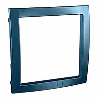 Decorative Frame Unica Colors, Glacier blue, 1 gang