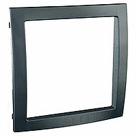 Decorative Frame Unica Colors, Graphite grey, 1 gang