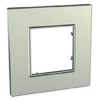 Cover Frame Unica Quadro, Titanium, 1 gang