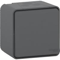 Mureva Styl - intermediate switch - surface mounting - grey