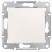 1-way Switch 10 AX - 250 V AC, Cream
