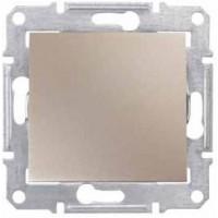 1-way Switch 10 AX - 250 V AC, Titanium