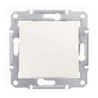 1-way Switch IP44 10 AX - 250 V AC, Cream