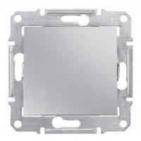 1-way Switch IP44 10 AX - 250 V AC, Aluminium