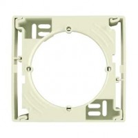 Surface-mounting box, 1 gang, Beige
