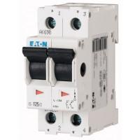 Main switch 16 A, 2P