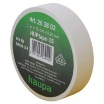 Insulating tape, 15mm, 10m, White